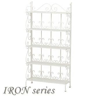 打开机架的铁架 5 女性公主每个帧与宽 70 厘米 (紧凑存储显示机架书架货架储存货架折叠钢)