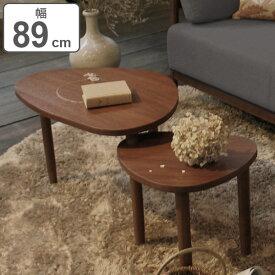 センターテーブル 収納 天然木 木製 幅89.5cm ( 送料無料 テーブル 机 つくえ リビングテーブル コーヒーテーブル リビング 収納 ローテーブル )