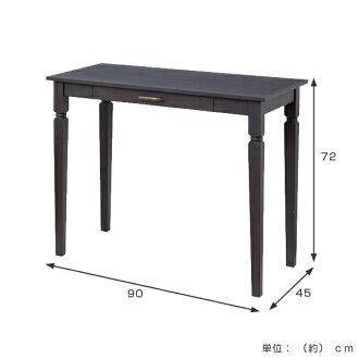 livingut  라쿠텐 일본: 콘솔 데스크 테이블 서랍 딸린 ine rino 너비 ...