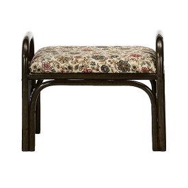 ラタンスツール 座椅子 ミドルタイプ 籐家具 座面高30cm ( 送料無料 イス チェア アジアン )