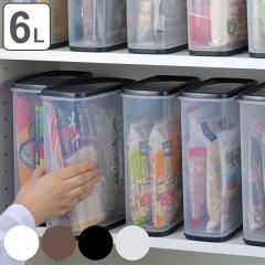 保存容器乾物ストッカー6L乾燥剤付き
