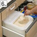 米びつ 気くばり米びつ 6kg ライスボックス ( 5kg 米櫃 システムキッチン 米 ストッカー 保管 保存 ライスストッ…