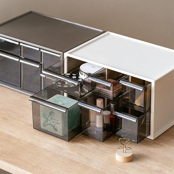 卓上収納ボックス アイケース L ( 小物入れ 収納ケース 小物収納 引き出し デスクチェスト 机 整理 )