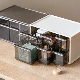卓上収納ボックス アイケースL 収納ボックス 引き出し 卓上収納 日本製 ( 収納ケース 卓上 収納 小物ケース 小物収納 小物 プラスチック デスク収納 机上用 机上ラック 収納用品 )