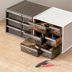 卓上収納ボックス アイケースS 収納ボックス 引き出し 卓上収納 日本製 ( 収納ケース 卓上 収納 小物ケース 小物収納 小物 プラスチック デスク収納 机上用 机上ラック 収納用品 )
