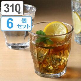 コップ DURALEX デュラレックス PICARDIE ピカルディ 310ml 同色6個セット グラス 食器 ( ガラス ガラスコップ ガラス製 タンブラー おしゃれ シンプル クリア 透明 洋食器 ガラス食器 )