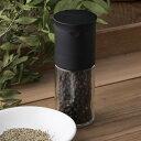 スパイスミル コショウ用 セラミックペッパーミル ブラック 貝印 ( 手動式 胡椒挽き こしょう挽き コショウ挽き 手動…