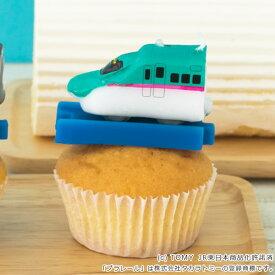 キャンドル パーティーキャンドル プラレールキャンドル E5系新幹線はやぶさ ( ローソク ろうそく ケーキ用 ケーキキャンドル プラレール 電車 新幹線 はやぶさ パーティーグッズ パーティー 誕生日 飾り付け ケーキ )