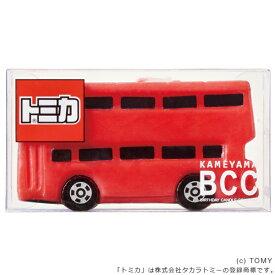 キャンドル ろうそく 誕生日 バースデーキャンドル トミカキャンドル バス ( ローソク ロウソク ケーキ用 ケーキキャンドル パーティーキャンドル トミカ 二階建て 車 赤 レッド パーティーグッズ )