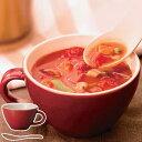 ほっくり スープカップ レッド