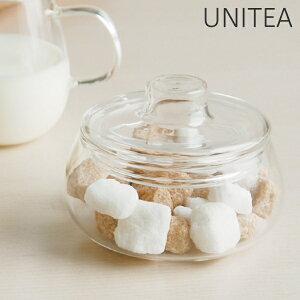キントー KINTO シュガーポット UNITEA ユニティ ( 砂糖 シュガー ポット ガラス ミルク入れ コーヒー 紅茶 耐熱ガラス )