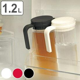 冷水筒 ピッチャー 水差し キントー KINTO PLUG プラグ ウォータージャグ 1.2L 横置き 縦置き ( 冷水ポット 麦茶ポット 食洗機対応 キッチン用品 )