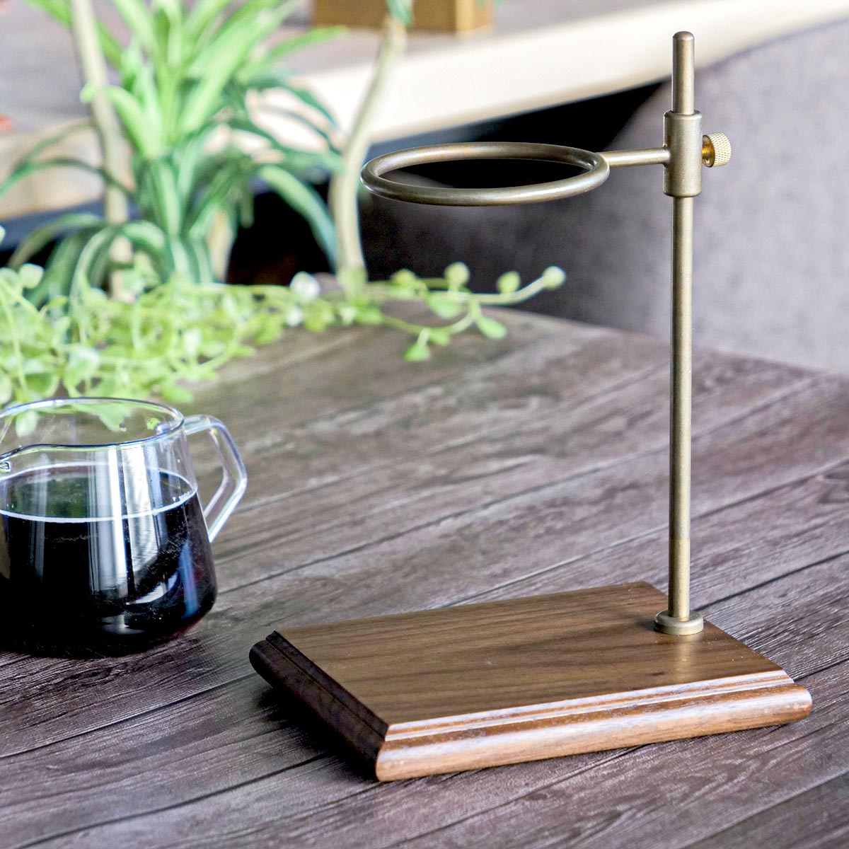 コーヒーメーカー SLOW COFFEE STYLE Specialty ブリューワースタンドセット 4cups ( 送料無料 コーヒードリッパー ガラス製 ブリュワー 食洗機対応 4cup 4カップ用 コーヒーウェア KINTO キントー )
