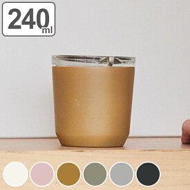キントー KINTO タンブラー 240ml 保温 保冷 蓋付き TO GO TUMBLER ( コップ マグ ステンレス製 カップ 2重構造 コーヒー ステンレスマグ ステンレス ふた付き オフィス )