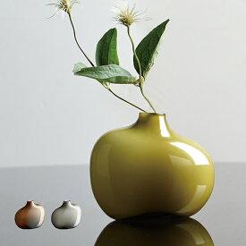花瓶 KINTO SACCO ベース ガラス 01 ( 一輪挿し 花びん フラワーベース おしゃれ アシンメトリー 非対称 コンパクト ポット 花器 花 グラデーション 玄関 リビング )