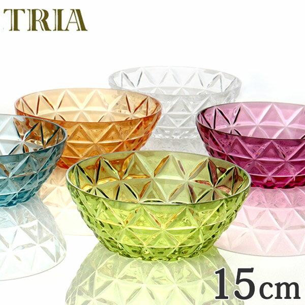 ボウル トリア TRIA 食器 15cm KINTO キントー ( 小鉢 サラダボウル サラダ 皿 食洗機対応 プラスチック 割れにくい クリア プラスチック製 お皿 フルーツボウル )
