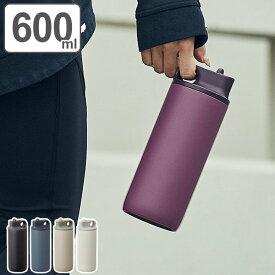 KINTO キントー 水筒 アクティブタンブラー 600ml ステンレス ( 保冷 スポーツ ジム アウトドア スパウト 真空二重構造 エストラマー BPAフリー ステンレスボトル ボトル マイボトル タンブラー )