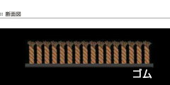 玄関マットOffice&DecorBrickWall145×200cm