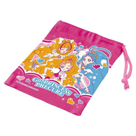 コップ袋 Go!プリンセスプリキュア 子供用 キャラクター ( 子供用 給食 袋 子供用コップ プリキュア )