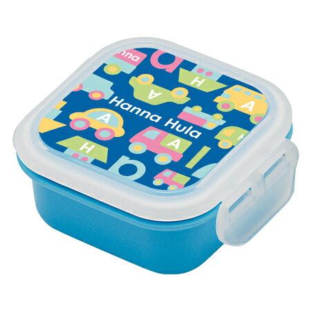 お弁当箱 デザートケース Hanna Hula ハンナフラ のりもの 子供用 ( ミニケース フルーツケース 果物入れ 弁当箱 ランチボックス )