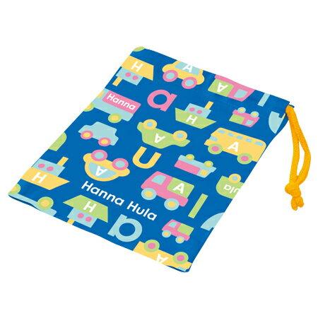 コップ袋 Hanna Hula ハンナフラ のりもの 子供用 ( 子供用 給食 袋 子供用コップ )
