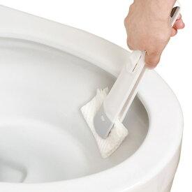 トイレの激落ち シートでトイレクリーナー レック ( トイレクリーナー 付け替え 使い捨て トイレ 掃除 トイレ掃除用品 トイレ掃除道具 トイレタリー トイレクリーナー トイレそうじ ケースセット )