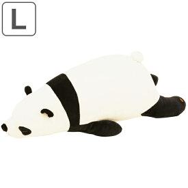 抱き枕 ぬいぐるみ パンダ プレミアムねむねむアニマルズ パオパオ Lサイズ ( 抱きまくら 動物 ぱんだ プレミアム 枕 まくら クッション もちもち しっとり panda アニマル 洗える 洗濯 手洗い かわいい )