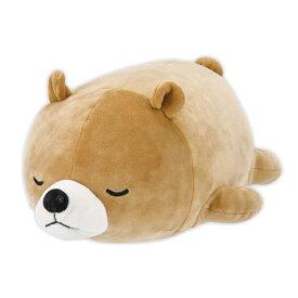 クッション 動物 ボルスター マシュマロアニマル クマ クッキー ( ぬいぐるみ 抱き枕 抱きまくら ヌイグルミ くま 熊 もちもち ふわふわ 洗える 洗濯 手洗い かわいい )