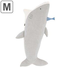 抱き枕 ぬいぐるみ Mサイズ ルーミーズパーティー サメ ( 抱きまくら ヌイグルミ クッション だきまくら 枕 まくら 動物 アニマル 鮫 さめ 可愛い 癒しグッズ かわいい リラックス グッズ もちもち しっとり 洗える 洗濯 手洗い )
