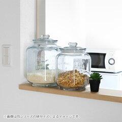 米びつ7Lガラス製ガラスクッキージャー