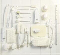 シンク洗いスポンジMKシンク掃除キッチンスポンジまめいた白