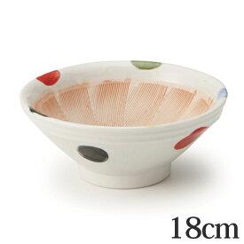 すり鉢 6号 18cm 和食器 陶器 日本製 ( 食器 ボウル 器 鉢 中鉢 電子レンジ対応 食洗機対応 おしゃれ おろし器 無地 離乳食 ペースト ごますり )