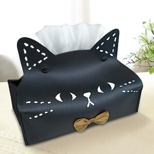 ティッシュケース ねこのミミッツ ネコ ティッシュカバー ( ティッシュ ケース ティッシュ入れ ねこ 猫 カバー 収納 リビング ダイニング 置き型 かわいい 子ども部屋 子供 )