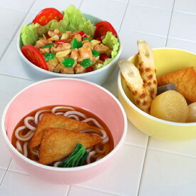 麺どんぶり 18cm プラスチック 食器 キッチンスタイル 洋食器 合成漆器 ( 皿 ボウル 電子レンジ対応 食洗機対応 軽い オシャレ 子ども ベビー )