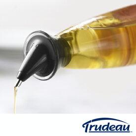 Trudeau(トゥルードゥー) ドリップレス オイルボトル 油さし ガラス製 ( 調味料ボトル 調味料入れ 油入れ 容器 キッチン用品 トルーデュー )