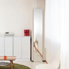鏡ウォールミラー突っ張り壁面ミラー幅30cm