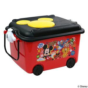 おもちゃ箱 収納ボックス ミッキーマウス ふた キャス...