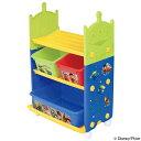 おもちゃ 収納ラック 3段 トイ・ストーリー トイステーション ( 送料無料 収納 棚 収納ボックス おもちゃ箱 キャスタ…