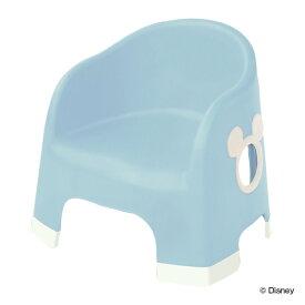 ベビーチェア キッズチェア 椅子 ララチェア ミッキーマウス エクリュシリーズ 日本製 ( ローチェア 赤ちゃん 子供 イス ディズニー キャラクター ミッキー キッズ 滑り止め 安全 音 鳴らない 背もたれ かわいい )