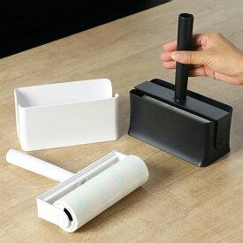 コロコロ 本体 コンパクト 片手でサッと取り出せる カーペット用 ( コロコロクリーナー カーペットクリーナー 粘着クリーナー テープ付 粘着カーペットクリーナー カーペット 絨毯 カーペットクリーナー 粘着テープ 掃除 清掃 用品 )