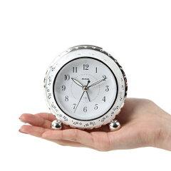 目覚まし時計アナログ光アルブラン時計置き時計アラーム時計