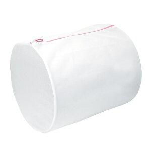 洗濯ネット 40×55cm ML 筒型ガードネット 筒型 大 ( ランドリーネット 洗濯用ネット 俵型 コインランドリー 丸洗い ファスナー 大容量 メッシュ 細目 型崩れ防止 おしゃれ着洗い 乾燥機OK )