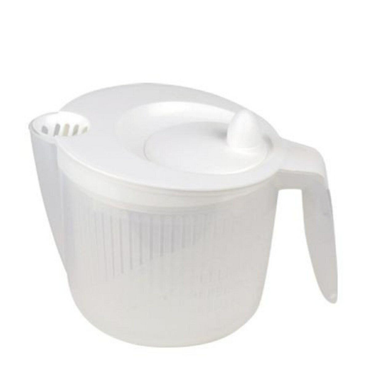 野菜水切り器 サラダスピナー グリップ式  ( 野菜 水切り スピナー キッチンツール キッチン用品 )
