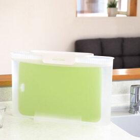 まな板 つけ置き容器 除菌・漂白用 スキット ( まな板 漂白 除菌 殺菌 便利グッズ キッチン用品 )