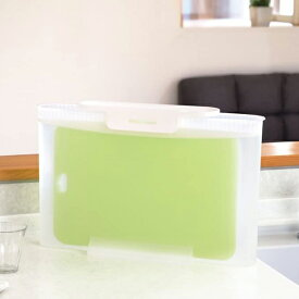 まな板 つけ置き容器 除菌・漂白用 スキット ( 浸け置き容器 つけ置き用 漬け置き用 キッチンツール 専用 漂白 除菌 殺菌 消毒 洗浄 便利グッズ )