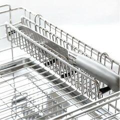 包丁スタンド水切り用ステンレス製包丁置きアットアクア
