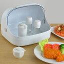 調味料ケース 卓上フード付きケース 大 プラスチック製 ( 卓上収納 キッチン収納 フード付きケース 卓上用品 スパ…