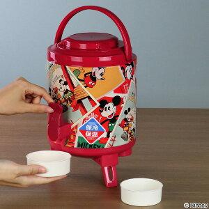 ウォータージャグ 3L ミッキーマウス ポスター 保冷 保温 ジャグ コップ付き ( 水筒 ウォーターサーバー ドリンクサーバー ミッキー ディズニー スポーツジャグ 保温保冷 アウトドア )