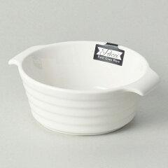グラタン皿丸型12cm一人用ココット皿白ホワイト耐熱皿陶器食器