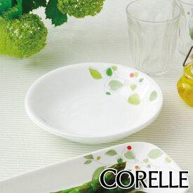 プレート 12cm コレール CORELLE 白 食器 皿 グリーンブリーズ ( 食洗機対応 ホワイト 電子レンジ対応 お皿 オーブン対応 白い 白い皿 深皿 小皿 取り皿 丸皿 ラウンド リーフ 洋食器 )